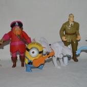 Разные фигурки игрушки из разных серий Мак Доналдc McDonald' и не только