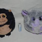 TY мягкий плюшевый глазастик обезьянка слон для ваших малышей