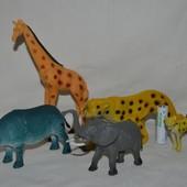 Разные животные игрушки африканские фигурки для игры ваших деток