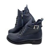 Ботинки женские кожаные демисезонные Vikttorio Stael Kis-2