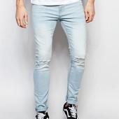 W34 L34, m-l-xl, поб 48-52, узкачи! рванки! джинсы скинни New Look, новые с бирками Великобритания