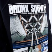 Свитшот Liberty - Bronx subway, Black