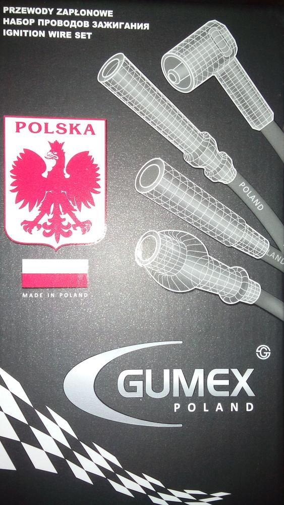 Провода зажигания gumex(польша) фото №1