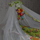 балдахин держатель в кроватку накидка на кроватку