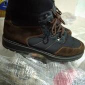 Зимние кожаные термо  ботинки 42 р Ronde Gore-Tex, UK 8