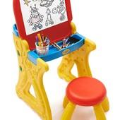 Crayola Парта со стульчиком и настольным мольбертом play 'n fold art studio
