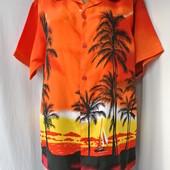 Новая стильная мужская рубашка Fuhua Размер S/М