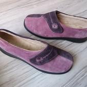 Теплые туфли  Hotter 41р. 26,5 см