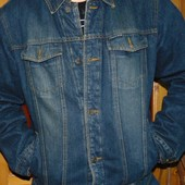 Фирменная стильная демисезонная джинсовая курточка .Camargue.л.