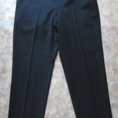 Черные классические брюки 48 мужск.