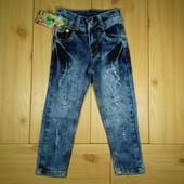 Стильные джинсы для девочек рр. 92-152 Beebaby (Бибеби)