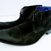 Стильные замшевые демисезонные ботинки Greve Размер 8,5 / 42-43 длина стельки 30 см