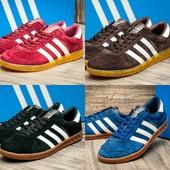 Кроссовки Adidas Hamburg, р. 43.44.45, цвета в ассорт., код kv-2492
