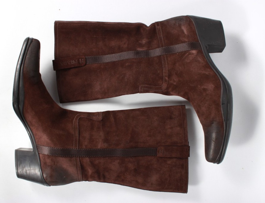 Сапоги prada оригинал, цена 2750 грн - купить Сапоги и ботинки бу ... 088514dd7fb