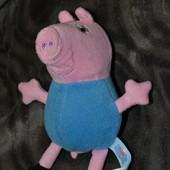 Peppa pig свинка пеппа  оригинал сост новой Англия 20 см