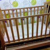 Кроватка Верес Соня ЛД7 с матрасиком