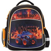 kite кайт  рюкзак школьный Monster Truck для мальчика 1-4 кл
