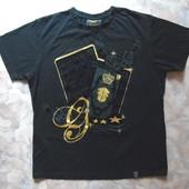 Черная футболка 46