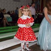 Яскрава сукня Міні маус