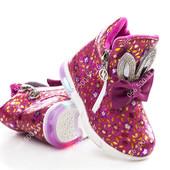 Выкуплены+сбор! Потрясающие ботиночки со светящейся подошвой, 22-27р.
