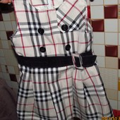 Плаття Burberry 1,5-2,5роки