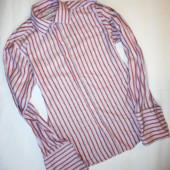 Мужская рубашка плотный 100% коттон р.L (плечи 44, ог 106,рукав 72)