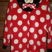 Пижама флисовая на 12-13 лет, рост до 158 см