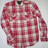 Мужская рубашка Denim р.М (плечи 44, рукав 63, ог 100)