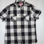Мужская рубашка Lee р.XL  (ог 104, плечи 44) 100% коттон