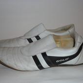 Кожаные кроссовки Gold р.42
