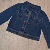 Джинсовка, джинсовый пиджак 1,5-3 года, 86-98 см
