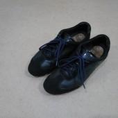 Кроссовки Geox кожаные черные