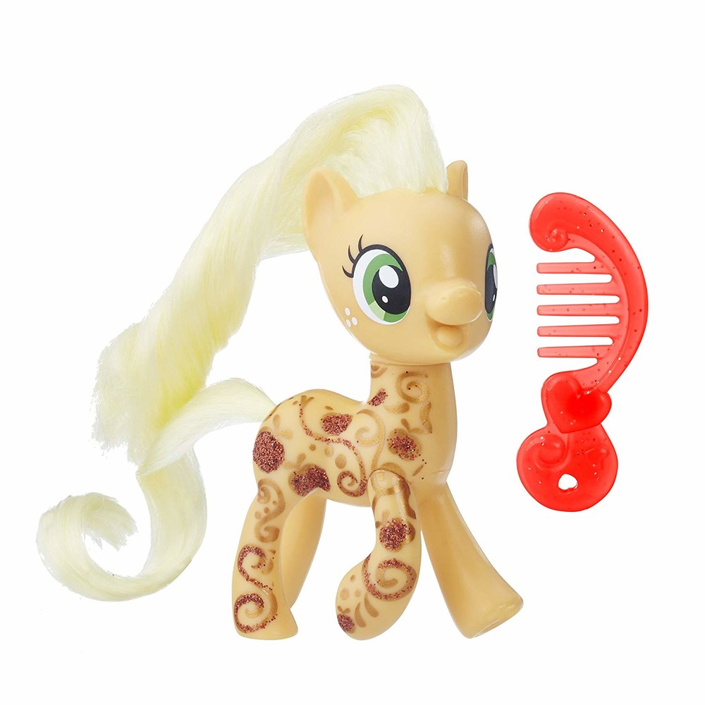 Пони эплджек 8см my little pony applejack фото №1