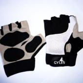 Велосипедные перчатки кожа натуральная р.L-XL
