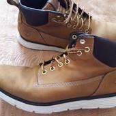 Кожаные фирменные ботинки Timberland р.42-26.5см.