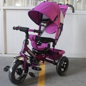 Велосипед трехколесный Tilly фиолетовый