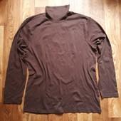 Мужской гольф шоколадного цвета размер XL  1-202 Ю