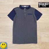 Новая легкая футболка поло F&F 13-14 лет, 158-164 см. сток