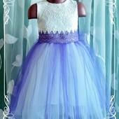 Нежное платье на девочку, пошив на заказ