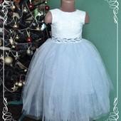 Блестящее пышное платье, пошив на заказ