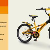 "Велосипед 2-х колес 18'' 111809 (1шт)""Hummer""со звонком,зеркалом, подножкой"