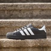 Кроссовки Adidas Superstar Black, р. 36-41, код mvvk-235А