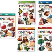Оригами набор для творчества поделки из бумаги Danko toys Ор-01-01/05
