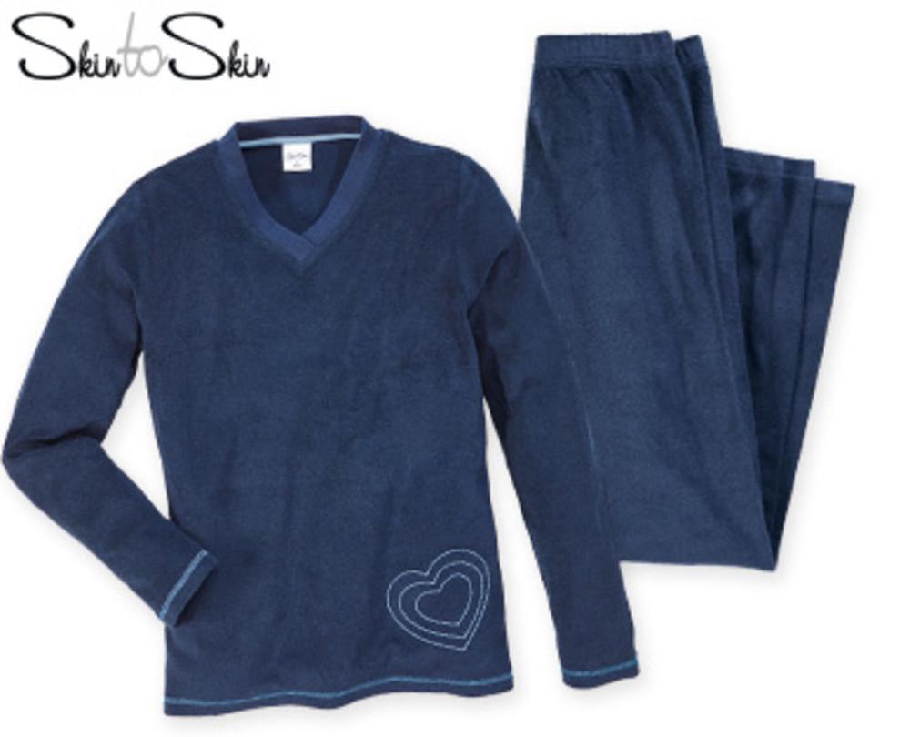 223eb72884b5 Махровый домашний костюм пижама, штаны кофта, skin to skin германия фото №1