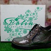Ботинки женские кожаные Polin 23