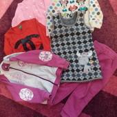 Пакет вещей девочке 2-4г