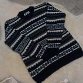 Теплый мужской свитер размер М-Л