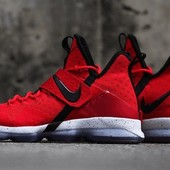 Кроссовки Nike LeBron 14 University red, р. 41-45, код fr-1427