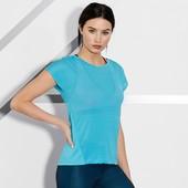 Легкая функциональная спортивная футболка от тсм Tchibo Германия, размер 36/38 евро