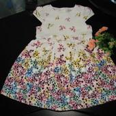 красивое нарядное платье Tu 3-4 года (можно до 5) отл.состояние!